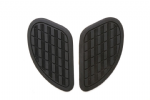 Triumph Fuel Tank Knee Pad Grips: Side pads (tank pads) Black: 1 pair